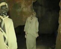 Jetler o mağaraya bomba yağdırdı