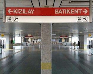 Ankara'da metrosunda intihar