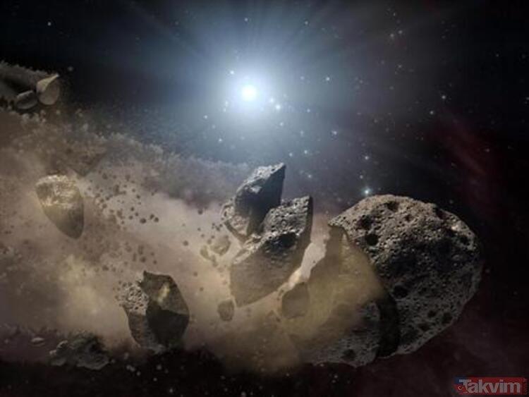 NASA'dan korkutan çalışma! Türkiye'ye asteroit çarpabilir