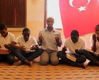 Tanzanyalı öğrenciler Zeytin Dalı Harekatı'na dualarıyla destek oldu