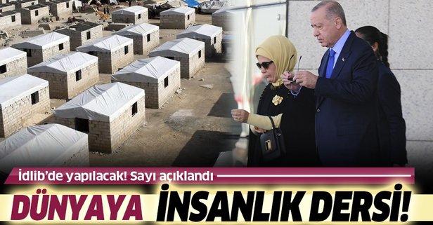 Emine Erdoğan'dan İdlib'e dev yardım