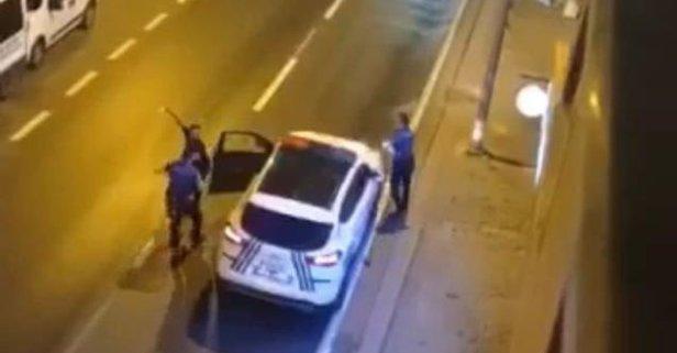 Önce annesini bıçakladı sonra polislere saldırdı