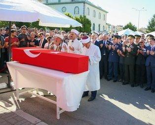 Şehit teğmen Güngör Dolunay son yolculuğuna uğurlandı