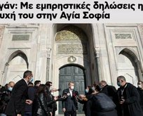 Yunan basını da Sözcü gibi rahatsız