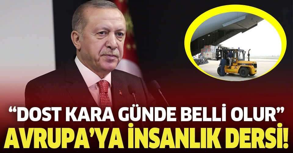 Son dakika: Başkan Erdoğan'dan İspanya ve İtalya Başbakanlarına mektup