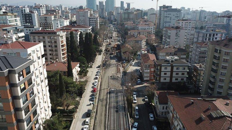 İstanbulun banliyö hatlarında yeni peronlar ortaya çıkmaya başladı