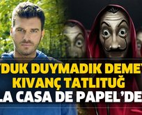 Kıvanç Tatlıtuğ Netflix dizisi La Casa de Papel'de!