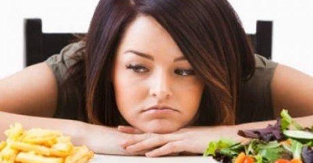 Yanlış beslenme mutsuz ediyor