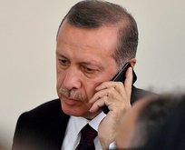 Başkan Erdoğan'dan şehit ailesine taziye telefonu