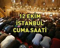 İstanbulda cuma namazı saat kaçta?