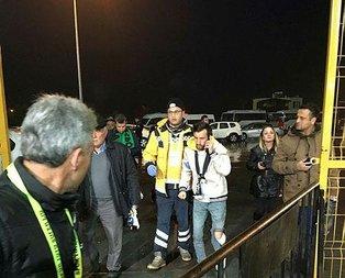 Fenerbahçe tribününde kan aktı!