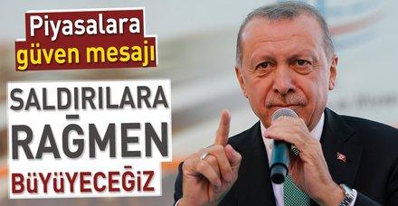 Son dakika: Başkan Erdoğan Gümüşhane'de konuştu