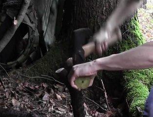 Ormanda yaptığıyla herkesi şaşırttı