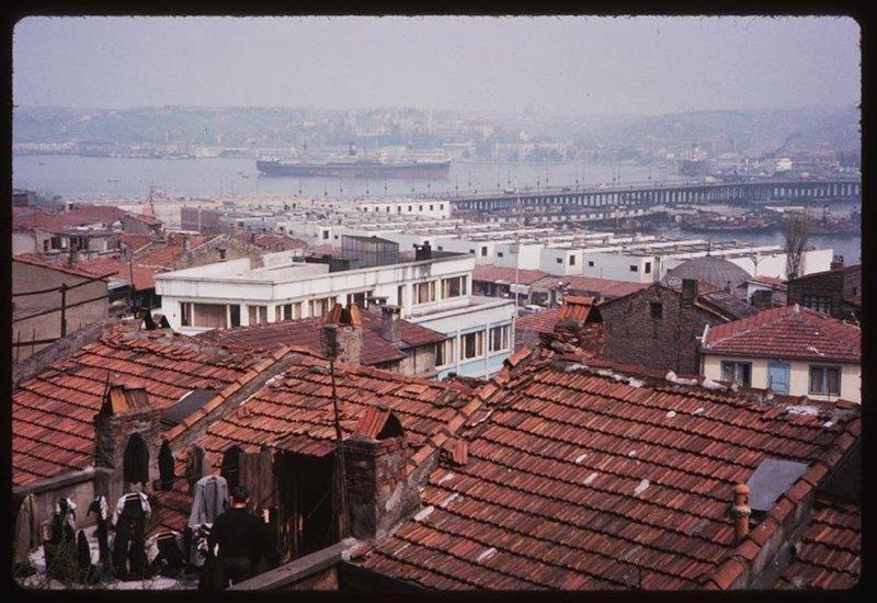 Renklendirilmiş halleriyle eski İstanbul fotoğrafları