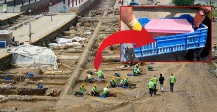 Haydarpaşa Garı'ndaki kazılarda top mermisi bulundu!