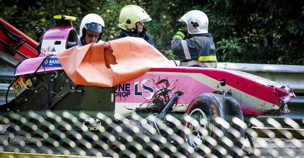 Formula 2'de feci kaza! Genç pilot hayatını kaybetti