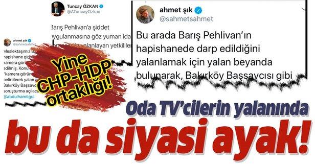 Barış Pehlivan yalanının siyasi ayağı!
