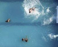 Kan donduran fotoğraf! Havuza asit döktüler sonrasında ise...