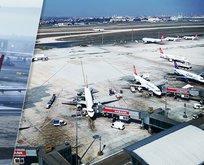 Atatürk Havalimanı'nda son yoğunluk!