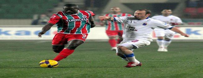 Diyarbakırspor - Trabzonspor (TSL 19. hafta maçı)