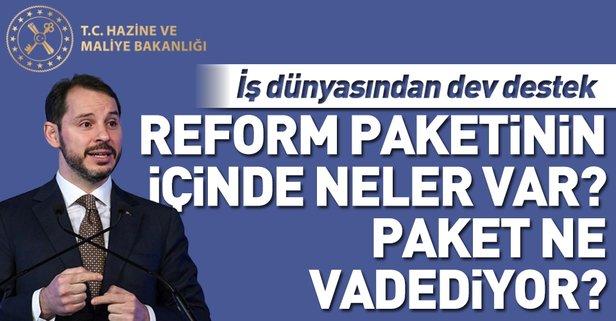 Ekonomi Reform Paketi'nde ne var, neler vadediyor?
