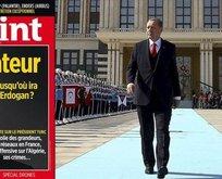 Fransız dergisinin skandal Erdoğan kapağına Macron'dan destek