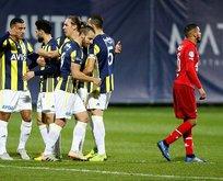 Fenerbahçe galibiyetle noktaladı