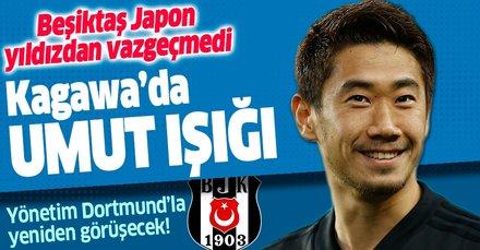 Kagawa'da umut ışığı! Beşiktaş Japon yıldızdan vazgeçmedi
