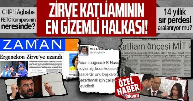 CHP'li Veli Ağbaba kumpasın neresinde?