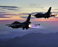 PKK'ya bir darbe daha! Hava harekatıyla yok edildiler