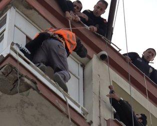 Adanada yürekleri ağza getiren an! Hemen polisi aradılar