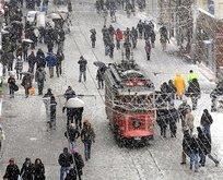 İstanbul'a şiddetli kar yağışı geliyor
