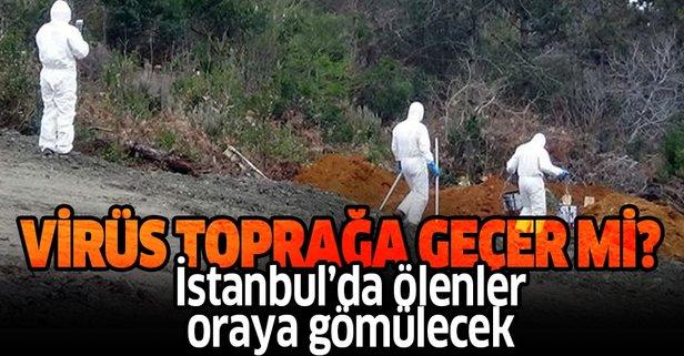 İstanbul'da 2 koronavirüs mezarlığı