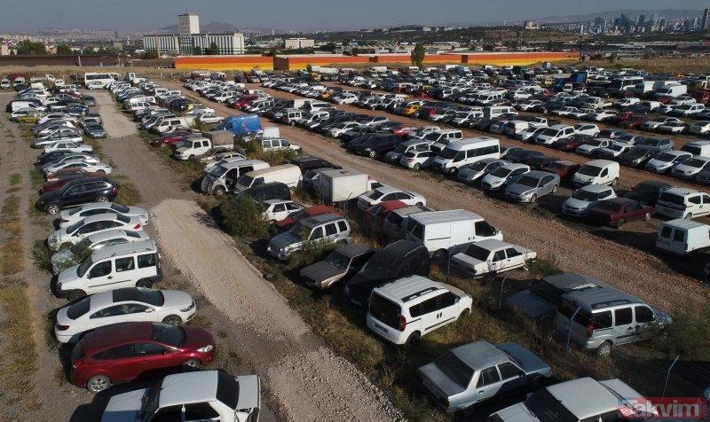 Binlerce araç çürümeye terk edildi! Aralarında milyonlarca lira değerinde olanlar da var