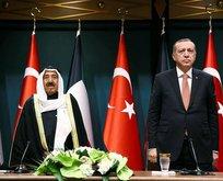 Başkan Erdoğan Kuveyt Emiri ile telefonda görüştü