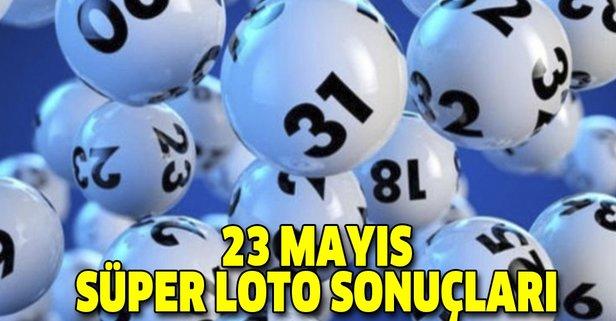 23 Mayıs Süper Loto sonuçları açıklandı