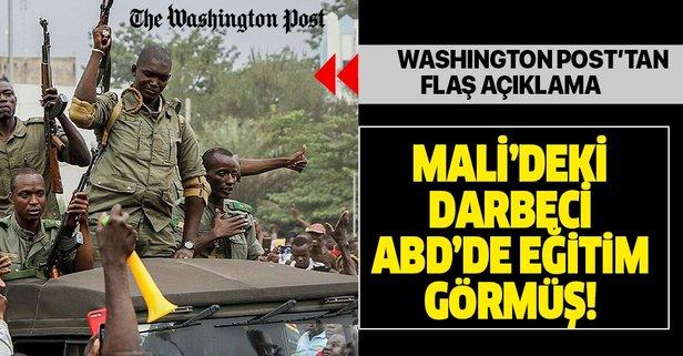 Washington Post'tan flaş açıklama! Mali'deki darbe lideri ABD'de eğitim görmüş