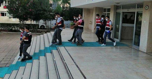 Mersin'de terör operasyonu: 4 şüpheli yakalandı
