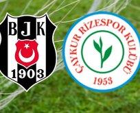 Beşiktaş - Rizespor maçı saat kaçta?
