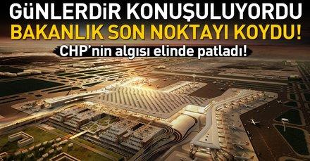 Ulaştırma Bakanlığı: 3. Havalimanı için para ödemeyeceğiz