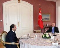 Başkan Erdoğan Saad Hariri'yi kabul etti