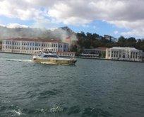 Son dakika: İstanbulun göbeğinde korkutan yangın