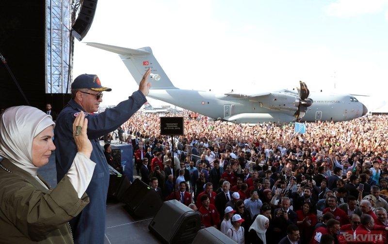 Cumhurbaşkanı Erdoğan TEKNOFESTte
