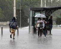 İstanbul ve birçok il için sağanak uyarısı