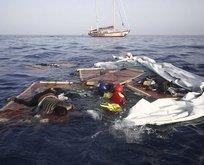 Akdeniz'de göçmen faciası! Çok sayıda ölü var...