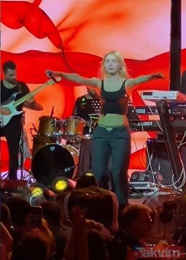 """Aleyna Tilki Alaçatı'da sahne aldı performansı olay oldu! Sosyal medya onu konuştu """"Aleyna baba bu kez çakıldı"""""""