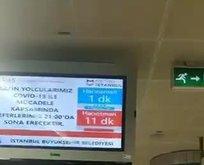 CHP'li İBB Metro seferlerini 10 dakikaya çıkardı
