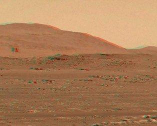 NASA yayınladı! Mars'ta inanılmaz görüntü!