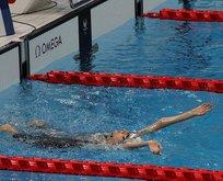 Yüzmede Elif İldem 8. sırada yer aldı