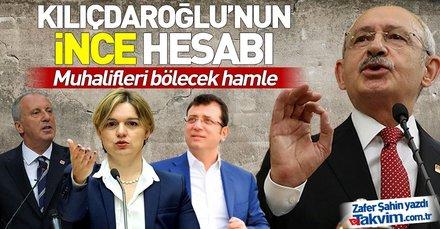 Kılıçdaroğlu'nun İnce hesabı! CHP'nin İstanbul, Ankara ve İzmir adayları belli oldu